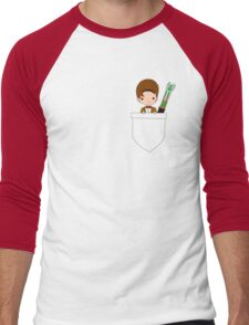 Pocket Who! (Eleventh Doctor) Men's Baseball ¾ T-Shirt