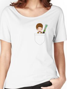 Pocket Who! (Eleventh Doctor) Women's Relaxed Fit T-Shirt