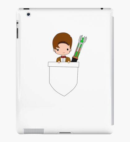 Pocket Who! (Eleventh Doctor) iPad Case/Skin