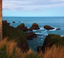 North Sea, Cruden Bay - From Slains Castle - North East coast of Aberdeenshire, Scotland by Yannik Hay