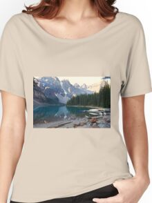 Lake Moraine – Banff National Park, Alberta, Canada Women's Relaxed Fit T-Shirt