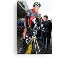 Lance Armstrong Canvas Print