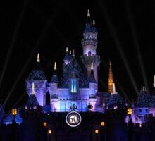 Disneyland 60th Diamond Anniversary Castle Sticker