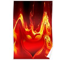 Heart is burning Poster