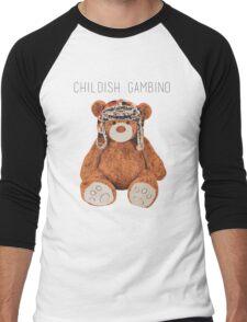 Gambino Bear Men's Baseball ¾ T-Shirt