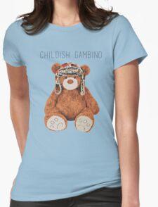 Gambino Bear Womens Fitted T-Shirt