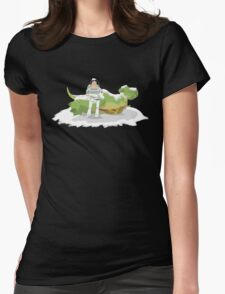 Toy Story: Zurg Strikes Back Womens Fitted T-Shirt