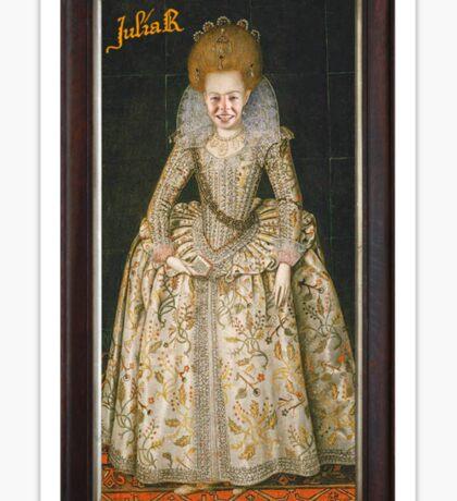 Julia Regina Sticker