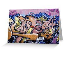 Pape Graffiti 2 Greeting Card