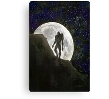 Beast at Full Moon Canvas Print