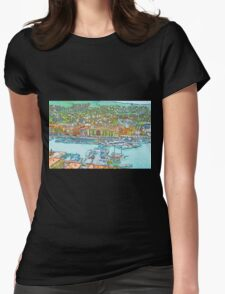 Nice France Womens Fitted T-Shirt