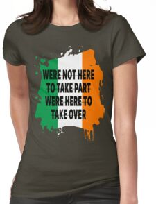 Conor Mcgregor Quote Womens Fitted T-Shirt