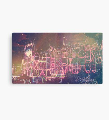Holly Jolly Lights Canvas Print