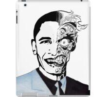 obama twoface iPad Case/Skin
