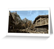 Riften Greeting Card