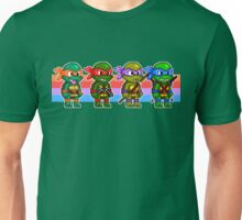 Teenage Mutant Ninja Turtles TMNT Pixel Stripes Unisex T-Shirt
