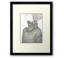 Turtleneck Sweater Framed Print