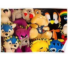 Fluffy Toys Poster