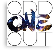 Odd One Out 2 Canvas Print