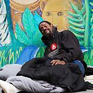 homeless man in SF area by Amanda Huggins