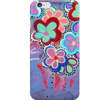 Whimsical Flowers - Art by Valentina Miletic iPhone Case/Skin