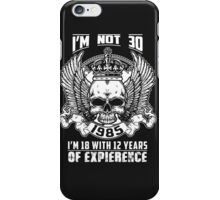 1985 is the best year iPhone Case/Skin
