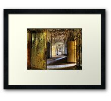 long way... Framed Print