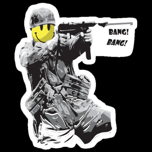 BANG BANG!!! by Create or Die Designs