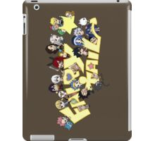 fairy tail erza natsu chibi anime manga shirt iPad Case/Skin