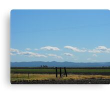 Pillars of Their Community Canvas Print