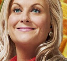 Leslie Knope Loves Waffles Sticker
