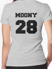 """The Marauders -- Remus """"Moony"""" Lupin Women's Fitted V-Neck T-Shirt"""