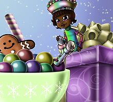 Sweet Christmas Candy Joy by treasured-gift