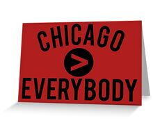 Chicago > Everybody - Bulls Greeting Card