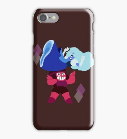Ruby and Sapphire iPhone Case/Skin