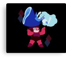 Ruby and Sapphire Canvas Print