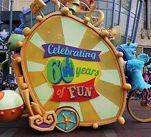 Pixar Parade in Disney California Adventure Monsters Inc by aSliceofDisney