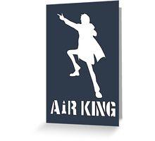 AIR KING (Non-transparent Version) Greeting Card
