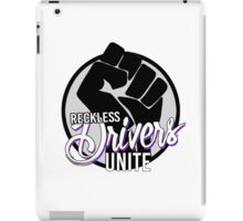 Reckless drivers unite iPad Case/Skin