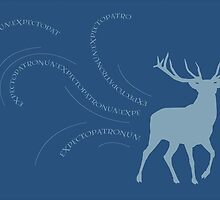 EXPECTO Stag Patronus by HOBbitDAY