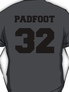 "The Marauders -- Sirius ""Padfoot"" Black T-Shirt"