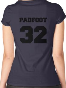 """The Marauders -- Sirius """"Padfoot"""" Black Women's Fitted Scoop T-Shirt"""