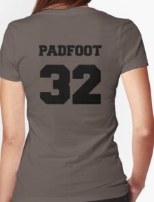 """The Marauders -- Sirius """"Padfoot"""" Black Womens Fitted T-Shirt"""