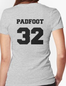 "The Marauders -- Sirius ""Padfoot"" Black Womens Fitted T-Shirt"