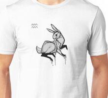 DoubleZodiac - Aquarius Rabbit Unisex T-Shirt