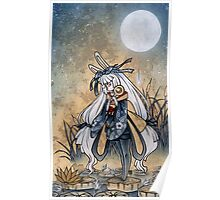 Miri & the Golden Flower - Usagi Moon Rabbit Poster