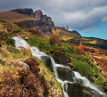 Storr and Falls II by Jeanie
