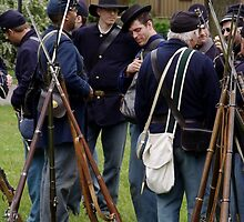 Union Infantry by James Formo