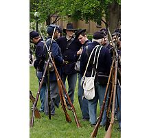 Union Infantry Photographic Print
