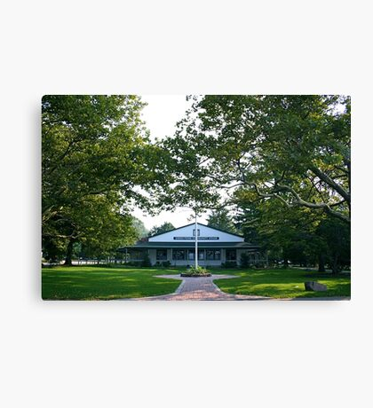 The Community House Canvas Print